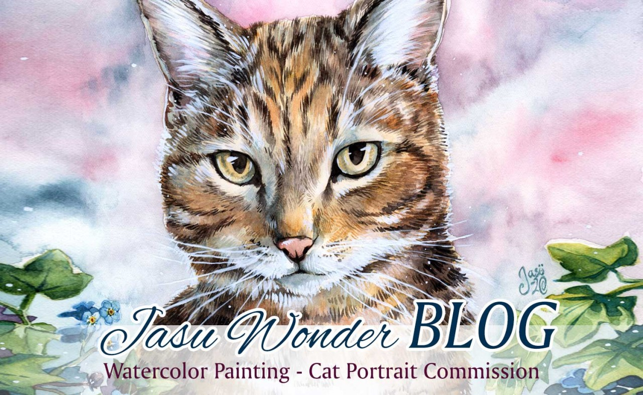 My Second Cat Portrait Commission