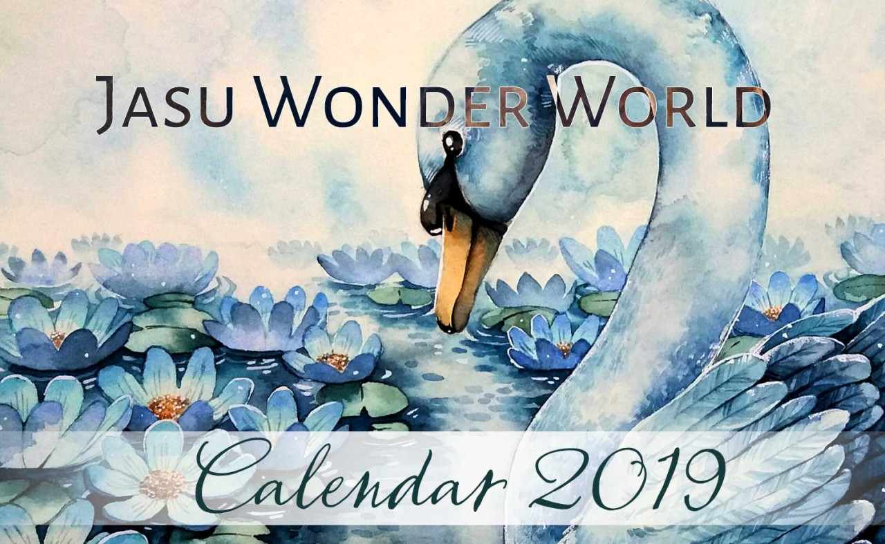 Jasu Wonder World Calendar 2019 - October (wip)