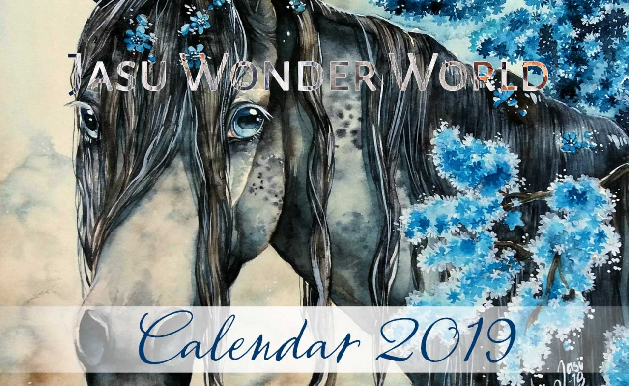 Jasu Wonder World Calendar 2019 - November (wip)