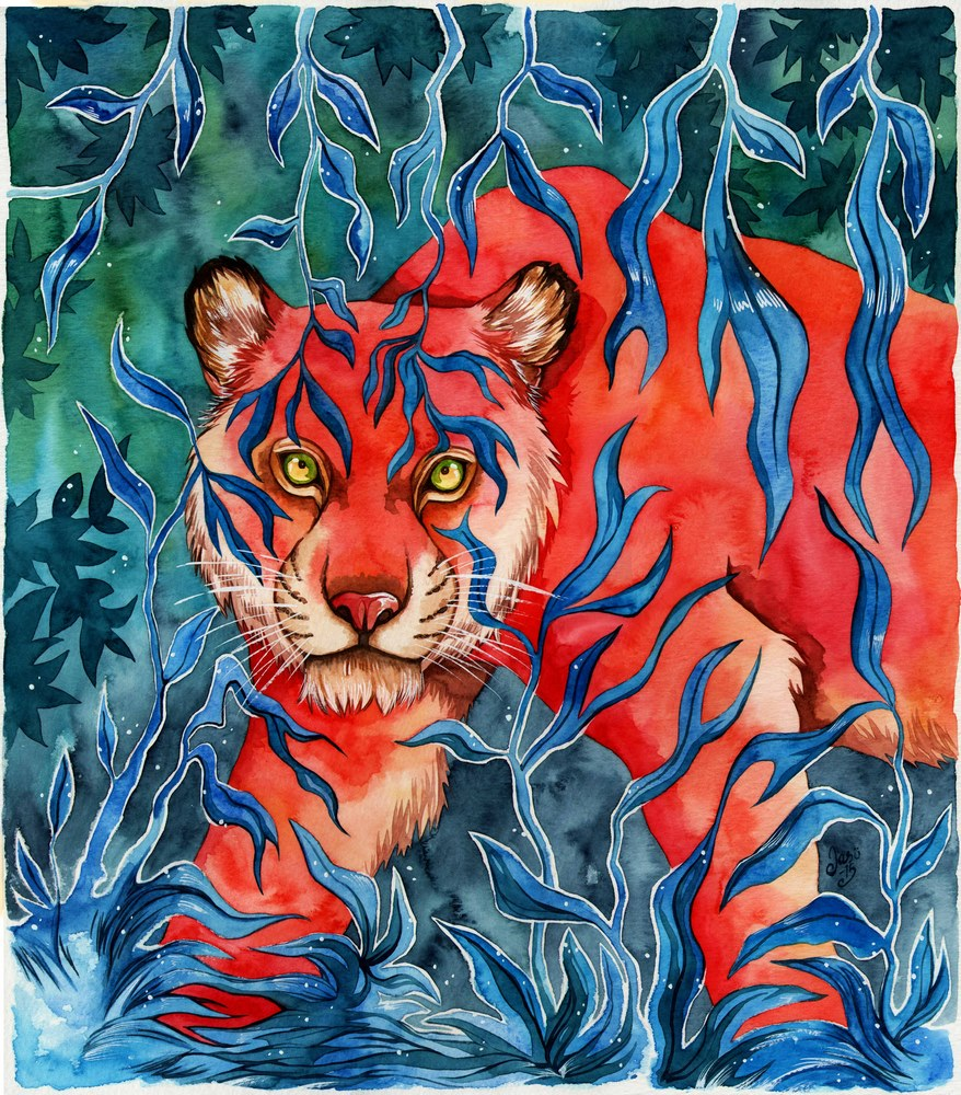 Original Painting - The Queen of the Jungle