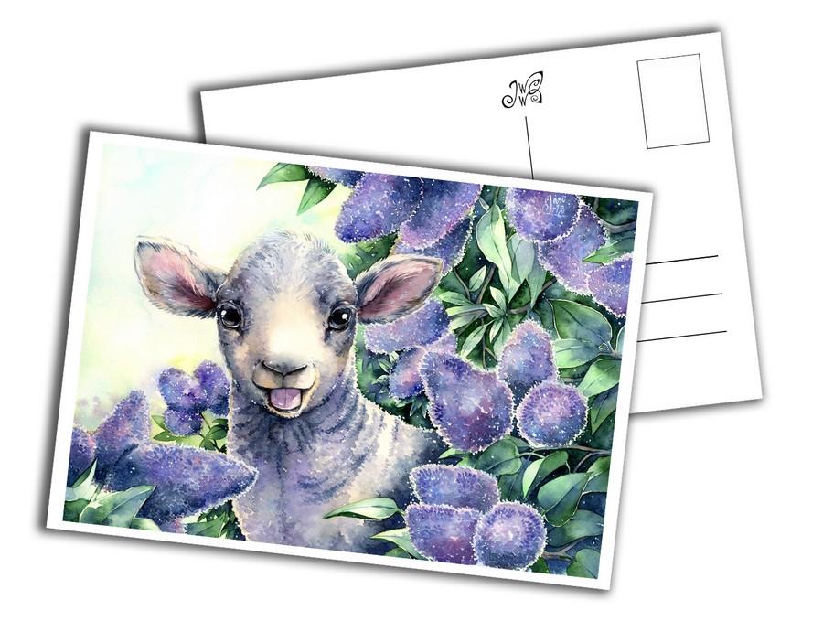 Card - Little Lamb