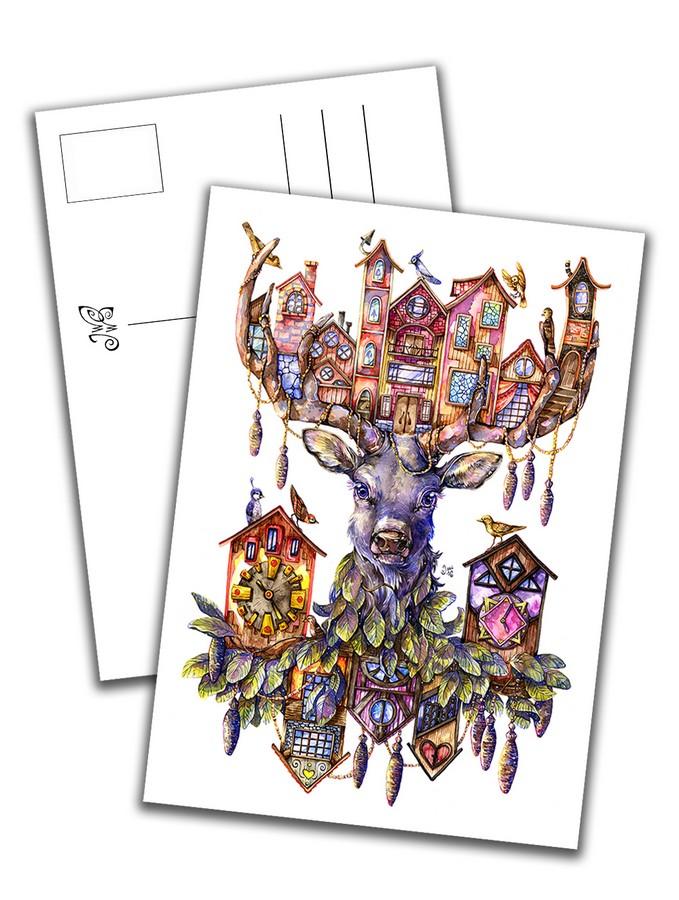 Card - Deer Room Service