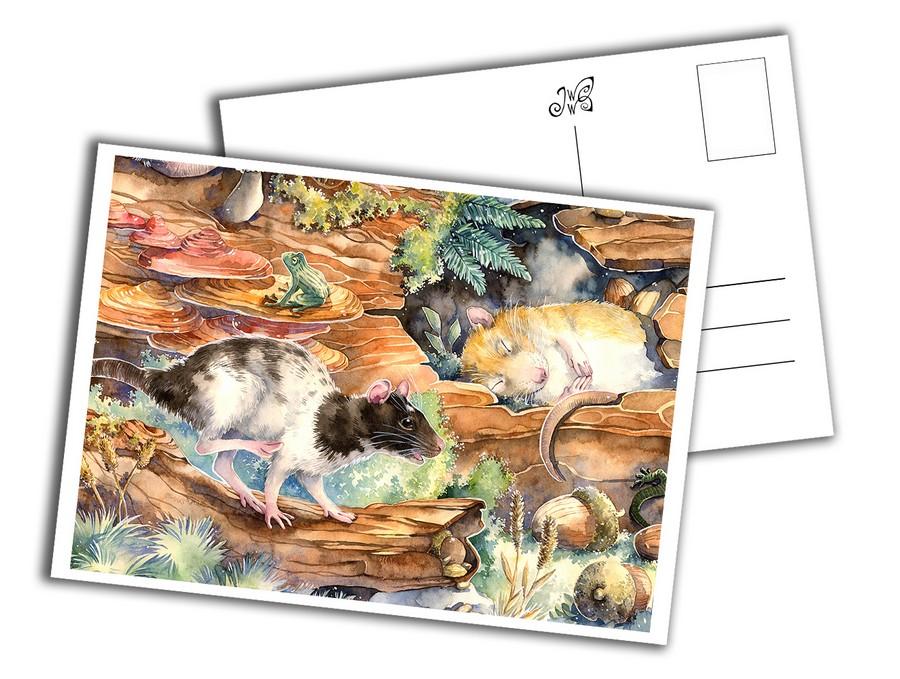 Card - Little Rats