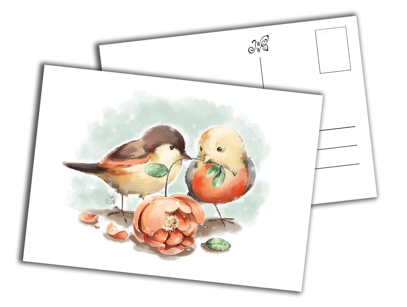 Card - Love Birds