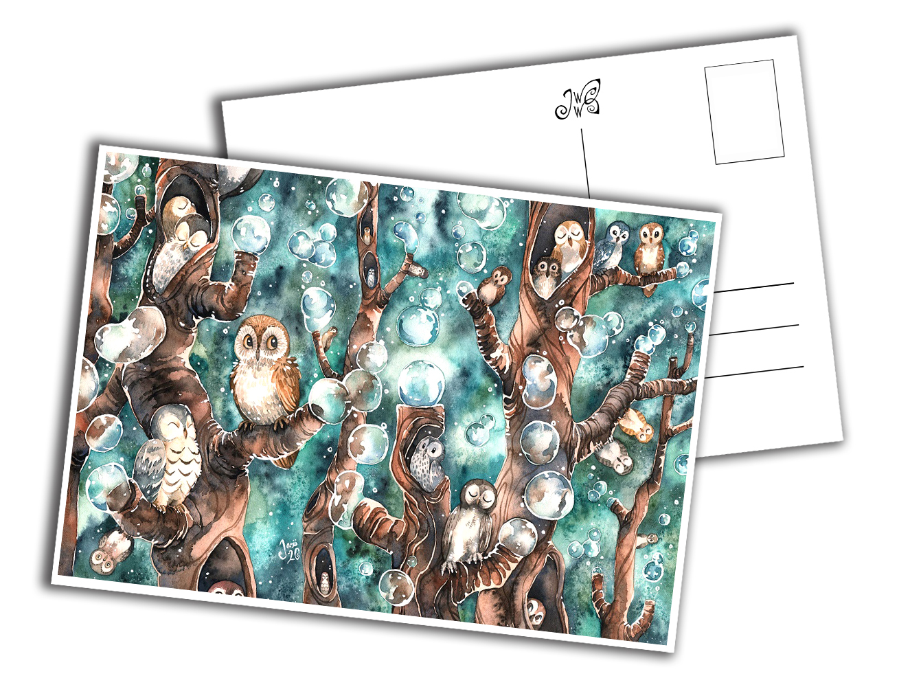 Card - The Kingdom of Owls