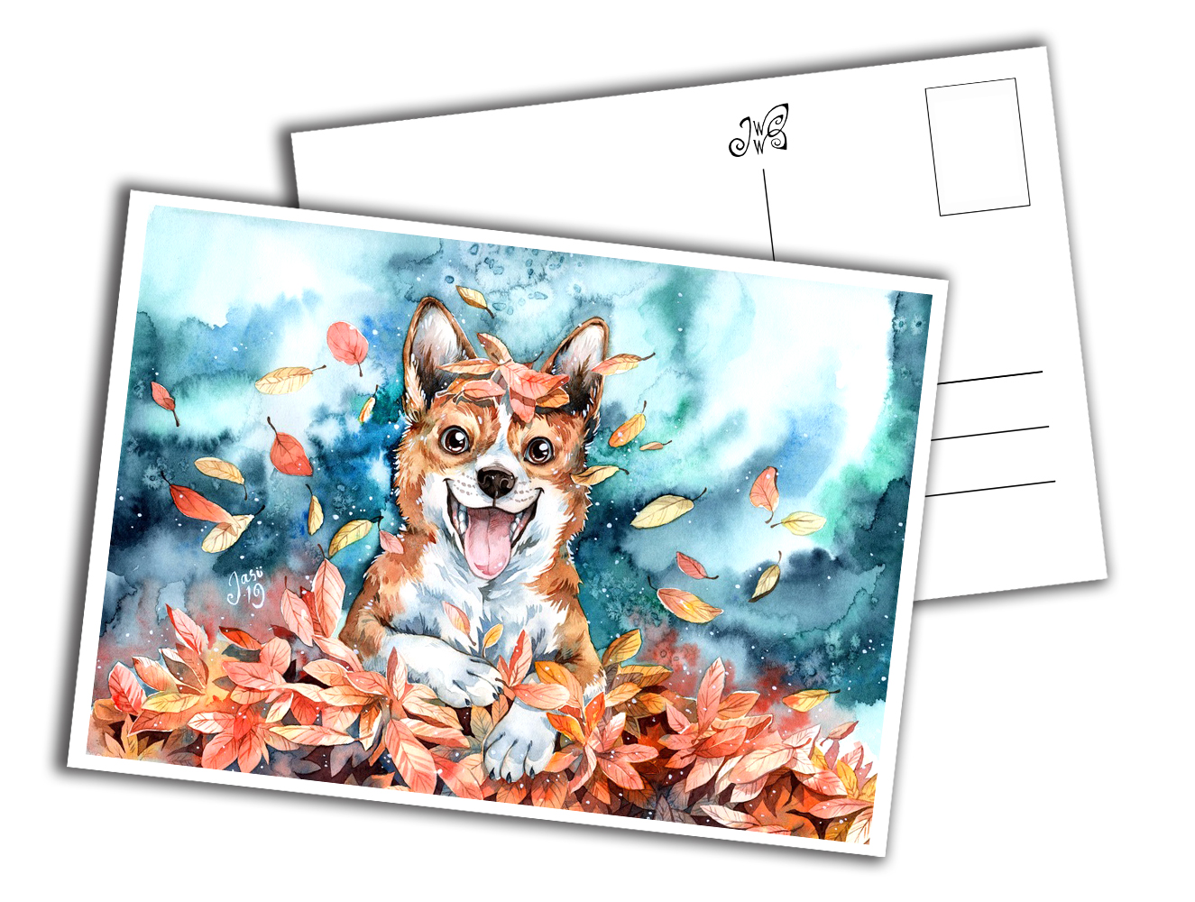 Card - Corgi