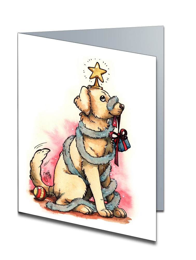 Card - A Good Boy for Christmas
