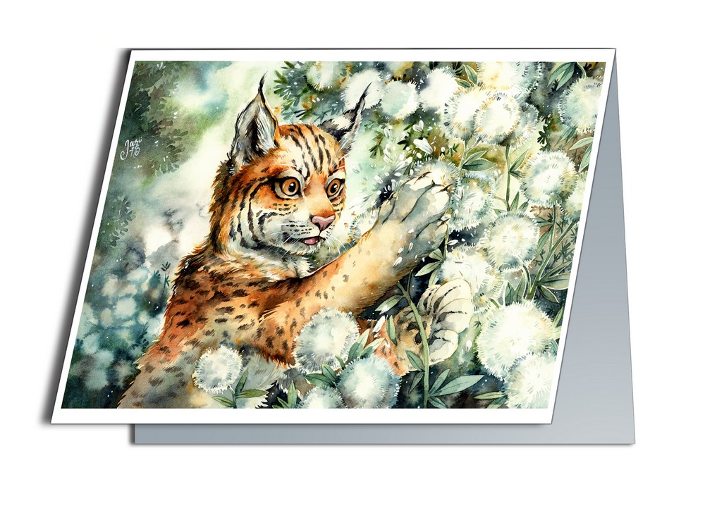 Lynx Cub (A6-size, Folded)