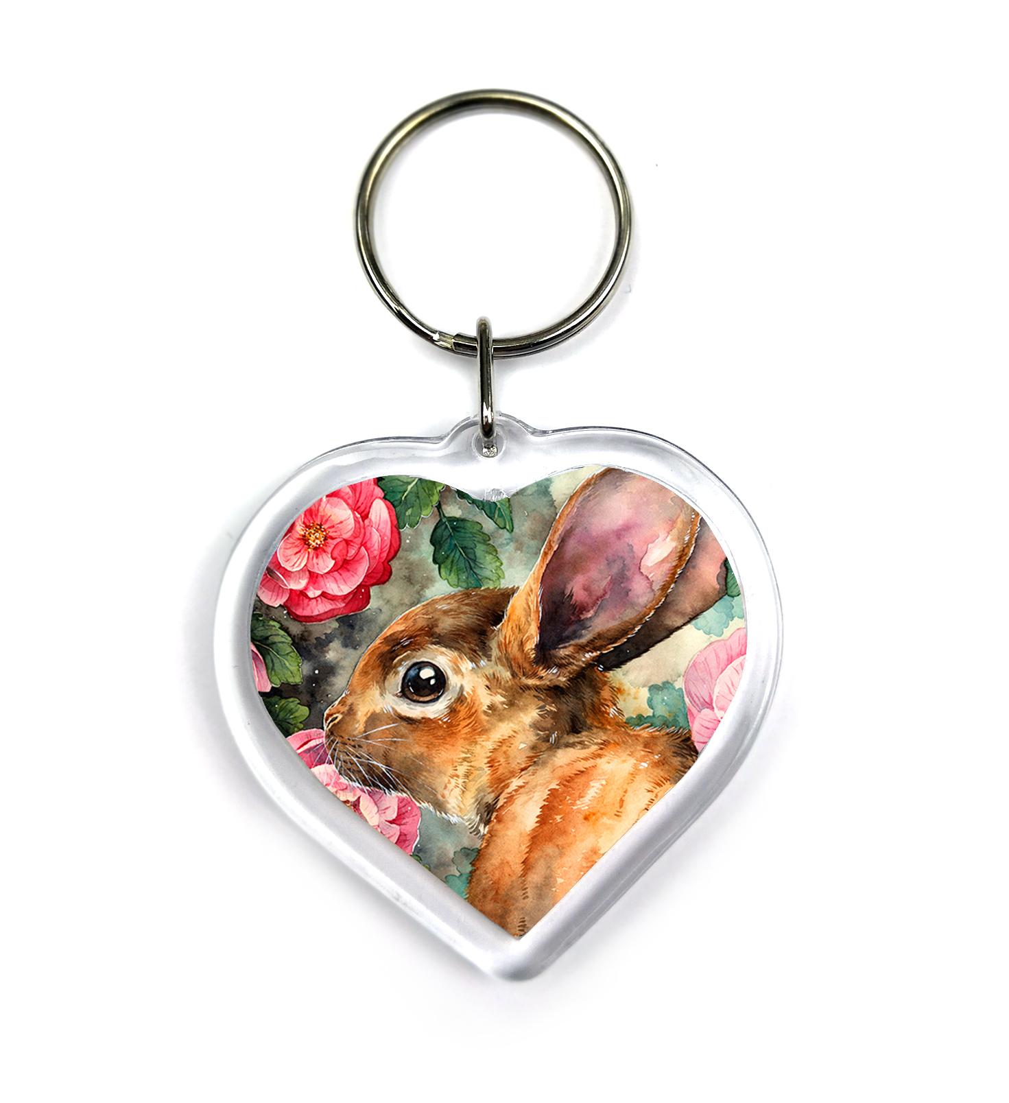 Rosy Bunny - Keychain