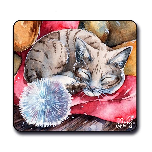 Christmas Kitten - Magnet
