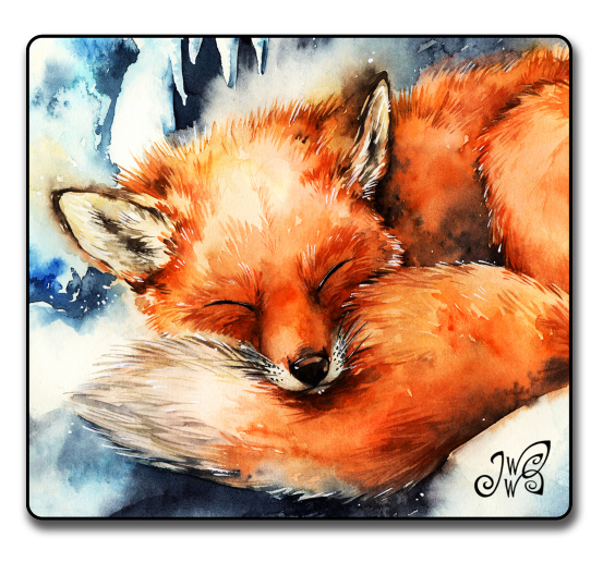 Fox in the Winter - Magnet
