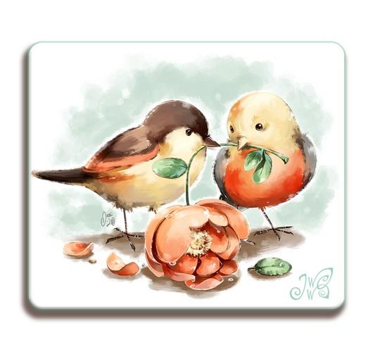 Magnet - Love Birds