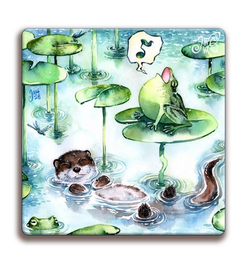 Magnet - Happy Otter