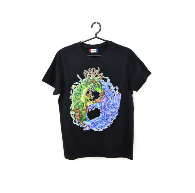 Yin & Yang Dragons T-shirt