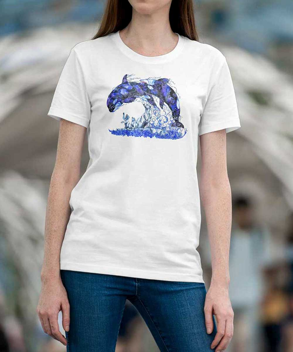 T-shirt - Playtime Killer Whales